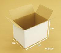 通販用80サイズダンボール白A4-230